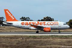 easyJet Airbus A319-111  |  G-EZAB  |  LMML (Melvin Debono) Tags: easyjet airbus a319111 | gezab lmml cn 2681