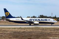 Ryanair Boeing 737-8AS  |  EI-EKL  |  LMML (Melvin Debono) Tags: ryanair boeing 7378as | eiekl lmml cn 38498