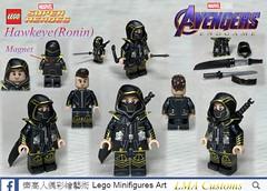 "Custom Lego Avengers:Endgame ""Ronin"" ""Hawkeye"" (LMA Eric Chang) Tags: ronin lmacustoms legophotography legos lego endgame avengers"