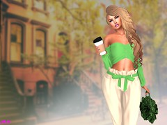 Morning Coffee (alexandra sunny) Tags: wellmade mybagsbymila avada catwa maitreya aviglam phoenix makeup coffee secondlife blog blogger fashion hair woman female