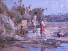 Jeunes filles dans l'oued (bpmm) Tags: algérie gustaveguillaumet lapiscine nord roubaix art expo exposition peinture