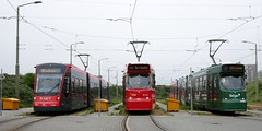 HTM Trams at Scheveningen (RTM Boy) Tags: rnet htm scheveningen siemens avenio 3105 3114 5036 gtl8ii tram