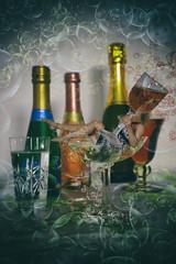 Cheers! (Annieverse) Tags: selfportrait self självporträtt bubbles woman drink bubblor drinks miniature