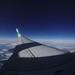 Airplane Window View (left)
