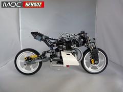 moto guzzi concept1 (moc-nemooz.com) Tags: moto guzi concept moc nemooz lego technic motorbike motorcycle