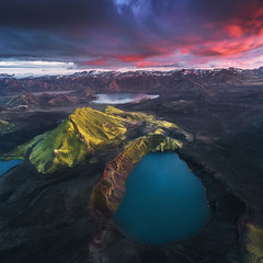 Icelandic Highlands by Drone (Iurie Belegurschi www.iceland-photo-tours.com) Tags: adventure arctic aerialphotography aerial aerialphoto birdseyeview cloudy clouds daytours dreamscape dji djimavicpro2 earth enchanting extremeterrain extreme fineartlandscape fineart fineartphotography fineartphotos finearticeland guidedphotographyworkshops guidedphotographytour guidedtoursiceland guidedtoursiniceland highlands icelandphototours iuriebelegurschi iceland icelandic icelanders icelandphotographyworkshops icelandphotographytrip icelandphotoworkshops landscapephotography landscape landscapephoto landscapes landscapephotos landofthemidnightsun midnightsun mountain mountains mountainrange nature nationalpark outdoor outdoors phototours phototour photographyiniceland photographyworkshopsiniceland summer sky sunrise sunset tours travel travelphotography tripsiceland view volcanic workshop workshops hnausapollur blahylur crater craterlake landmannalaugar