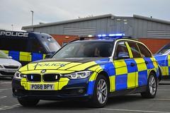 PO68 BPY (S11 AUN) Tags: lancashire constabulary bmw 330d 3series xdrive estate touring osu operational support unit anpr police traffic car rpu roads policing 999 emergency vehicle po68bpy