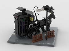 bat_cart (dimkablinov) Tags: lego moc minifigurescale vehicle batman horse