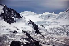 Monte Rosa - Zermatt (Massimo Frasson) Tags: kodak kodakelitechromeextracolor svizzera suisse schweiz switzerland confederazionesvizzera confederazioneelvetica cantonvallese distrettodivisp zermatt ferroviadelgornergrat gornergratbahn monterosa ghiacciaio montagna monti neve vette cielo roccia