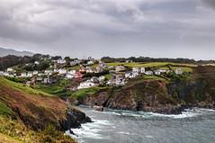 Ortiguera (ccc.39) Tags: asturias coaña ortiguera cantábrico mar pueblo costa acantilados puerto coast shore sea town