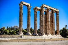 vestiges / remains (dbrothier) Tags: athina attique grèce athenes greece canonef2880mmf3556ii eos6d canon6d olympian zeus corinthian lr