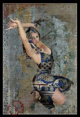 REMY CLARISSE  2 v5 (REMYRO) Tags: design tableau concept illustration art style femme futuriste futuristic beauty beauté surréaliste peinture espagne andalousie danse claquette