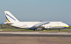 antonov design bureau an-124-100m-150 ur-82009 arriving in shannon from tulsa 5/5/19. (FQ350BB (brian buckley)) Tags: antonovdesignbureau antonovairlines an124100m150 ur82009 einn