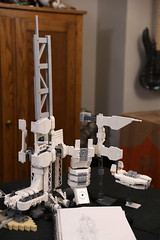 Microspace Arcology WIP (Blake Foster) Tags: lego space microscale microspace arcology afol moc wip lego:scale=micro lego:theme=space