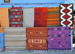 Zapotec Rugs Tapetes Weavings Oaxaca Mexico (Ilhuicamina) Tags: zapotec textiles oaxaca tejidos weavings rugs tapetes mexico