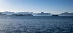 Straße von Korfu (Aeschbacher Hilde) Tags: 110519 strasevonkorfu albanischeküste ionischesmeer morgenstimmung pentaxart pentaxk1 earth