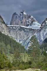 Le Tre Cime di Lavaredo (HDR) (biom73) Tags: montagna mountain sky nikon dolomiti italia italy landscape