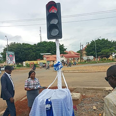 See photos from the commissioning of a street light in Cross Rivers state (baydorzblogng) Tags: nigeria news africa international celebrity gists other education fashion