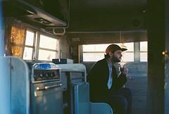 FH000011 (dannondale) Tags: trailer smoke derstin portrait nikonf2 ektar kodak 35mmfilm 35mm 50mm kodakektar film filmportrait