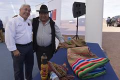 Foto24 (Intendente de Tarapacá) Tags: intendente quezada y ministra de energía participaron en la instalación los 1ros paneles fotovoltaicos granja solar 22052019