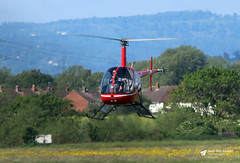 G-JKHT Robinson R22 Beta, JK Helicopter Training Ltd, Gloucestershire Airport, Staverton, Gloucestershire (Kev Slade Too) Tags: gjkht robinson r22beta jkhelicoptertrainingltd egbj gloucestershireairport staverton gloucestershire