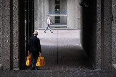 Barbican, London 2019 (XBeauPhoto) Tags: april2019 architecture london barbican brutalism brutalist candid candidstreet citylife colourpop streetphoto streetphotography urban
