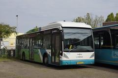 Van Hool A300-HYB Arriva 4849 met kenteken BX-NT-16 in de bus garage van Leiden 18-05-2019 (marcelwijers) Tags: van hool a300hyb arriva 4849 met kenteken bxnt16 de bus garage leiden 18052019 busse buses coach lijnbus linienbus öpnv nederland niederlande netherlands pays bas