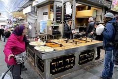 Machaneh Yehuda Market (oxfordblues84) Tags: machaneyehudamarket oat overseasadventuretravel jerusalemisrael jerusalem israel walkingtour market man woman israeli israelis pedestrians people foodvendor food