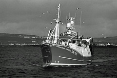 Guardian Angell (IMG_0003mod) (AngusInShetland) Tags: lk272 guardianangell lerwick shetland scotland fishingboat 35mm bergger blackandwhite film analogue canoscan5600f