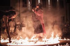 Spirale di fuoco (Alessandro Zaniboni Ph) Tags: people persona buskers fire person fuoco grazie lombardia italia