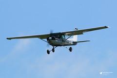 G-BIMT Reims Cessna FA152 Aerobat, Staverton Flying School @ Skypark Ltd, Gloucestershire Airport, Staverton, Gloucestershire (Kev Slade Too) Tags: gbimt reims cessna152 aerobat stavertonflyingschoolskyparkltd egbj gloucestershireairport staverton gloucestershire