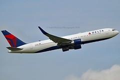 "Delta Air Lines N181DN Boeing 767-332ER Winglets cn/25986-446 ""181"" @ LFPG / CDG 06-05-2019 (Nabil Molinari Photography) Tags: delta air lines n181dn boeing 767332er winglets cn25986446 181 lfpg cdg 06052019"