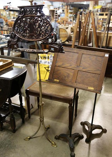 Ornate music stand ($246.40)