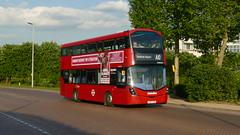 Heathrow Not So Fast (londonbusexplorer) Tags: metroline travel volvo b5lh wrightbus gemini 3 vwh2354 lk67cxm a10 uxbridge heathrow central tfl london buses
