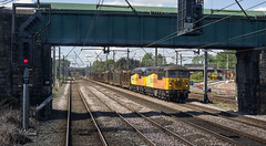56 090 & 56 049 at Springs Branch Junction. (Marra Man) Tags: class56 colasrailfreight 56090 56049 6j37 springsbranchjunction