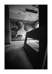 (Oeil de chat) Tags: nb bw monochrome film pellicule argentique 35mm voigtlander bessa r2a colorskopar 21mm grandangle urbex kodak trix xtol explorationurbaine silhouette