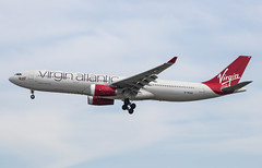 EGLL - Airbus A330-343E - Virgin Atlantic - G-VKSS / Mademoiselle Rouge (lynothehammer1978) Tags: egll lhr londonheathrow heathrow heathrowairport airbusa330343e gvkss virginatlantic mademoisellerouge