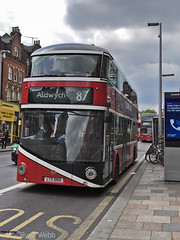 LTZ 1060 (LT60) (Photography By Ryan Webb) Tags: goahead go ahead general borismaster wrightbus nbfl new bus for london clapham junction tfl route 87 aldwych