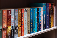 142/365 Bookshelf (belincs) Tags: stilllife indoors books flash oneaday action lincolnshire 365 2019 may uk bookshelf 365the2019edition 3652019 day142365 22may19