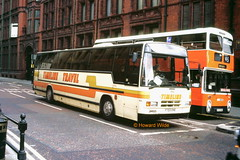 Timeline 703 (F703 ENE) (SelmerOrSelnec) Tags: timeline leyland tiger plaxton paramount f703ene manchester whitworthstreet shearings bus coach