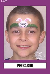 E-005 PEEKABOO (BEYOND Face Painting) Tags: easter animal animals bfp beyond originals