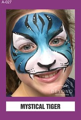 A-027 MYSTICAL TIGER (BEYOND Face Painting) Tags: animal animals beyond bfp originals