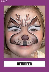 A-018 REINDEER (BEYOND Face Painting) Tags: animal animals christmas xmas winter beyond bfp originals