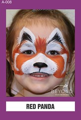 A-008 RED PANDA (BEYOND Face Painting) Tags: animal animals beyond bfp originals