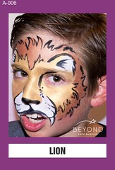 A-006 LION (BEYOND Face Painting) Tags: animal animals beyond bfp originals