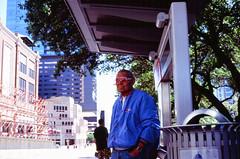 Shades (FlotographyATX) Tags: downtown fujifilm people street velvia yashica