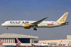 Gulf Air - Boeing 787-9 Dreamliner A9C-FB @ London Heathrow (Shaun Grist) Tags: a9cfb gf gulfair boeing 787 7879 dreamliner shaungrist lhr egll london londonheathrow heathrow airport aircraft aviation aeroplanes airline avgeek landing 27l