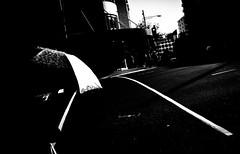 (steven:s) Tags: sydney street light dark shadow bw monochrome people city umbrella ricoh gr