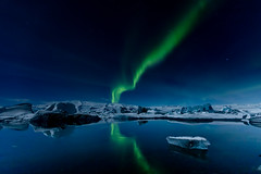 Northern Lights - Iceland (Peta Jade) Tags: auroraborealis bucketlistticked glaciallagoon glacierlagoon northernlights addictedtotravelnow holiday holidaywithgorgeousboyfriend ice iceland mystic naturalphenomena nightsky photography sky travel traveldestination tripofalifetime winterholiday
