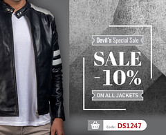 Devil's-Sale!-Shop-on-devilson-and-get-10%-off-on-every-devilson-leather-goods (devilsondotcom) Tags: fashion leather jackets uk mens womens mensfashion classicjacket leatheroutfit winteroutfit